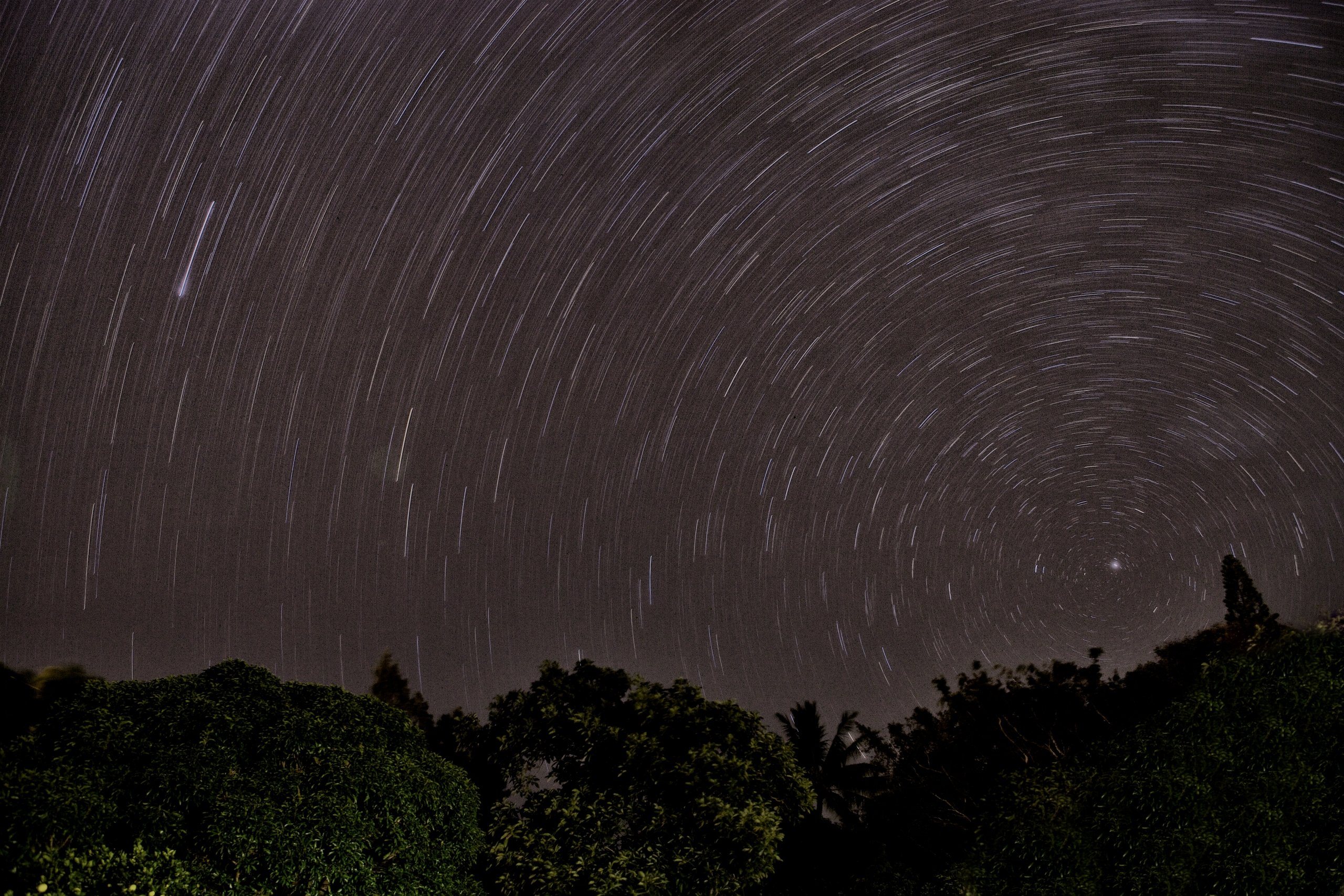 Kauai Hawaii Star Trails