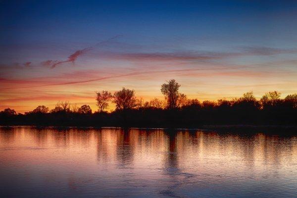 Northern California lake