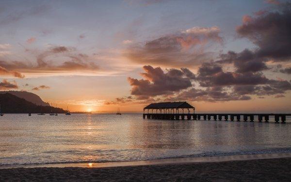 Hanalei Bay Pier, Kauai