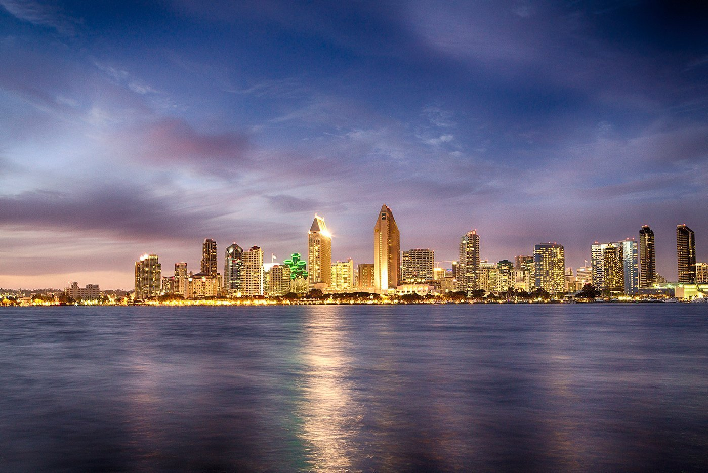 San Diego City Skyline Photography