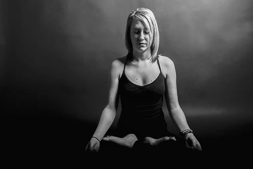 Yoga portrait photography San Diego
