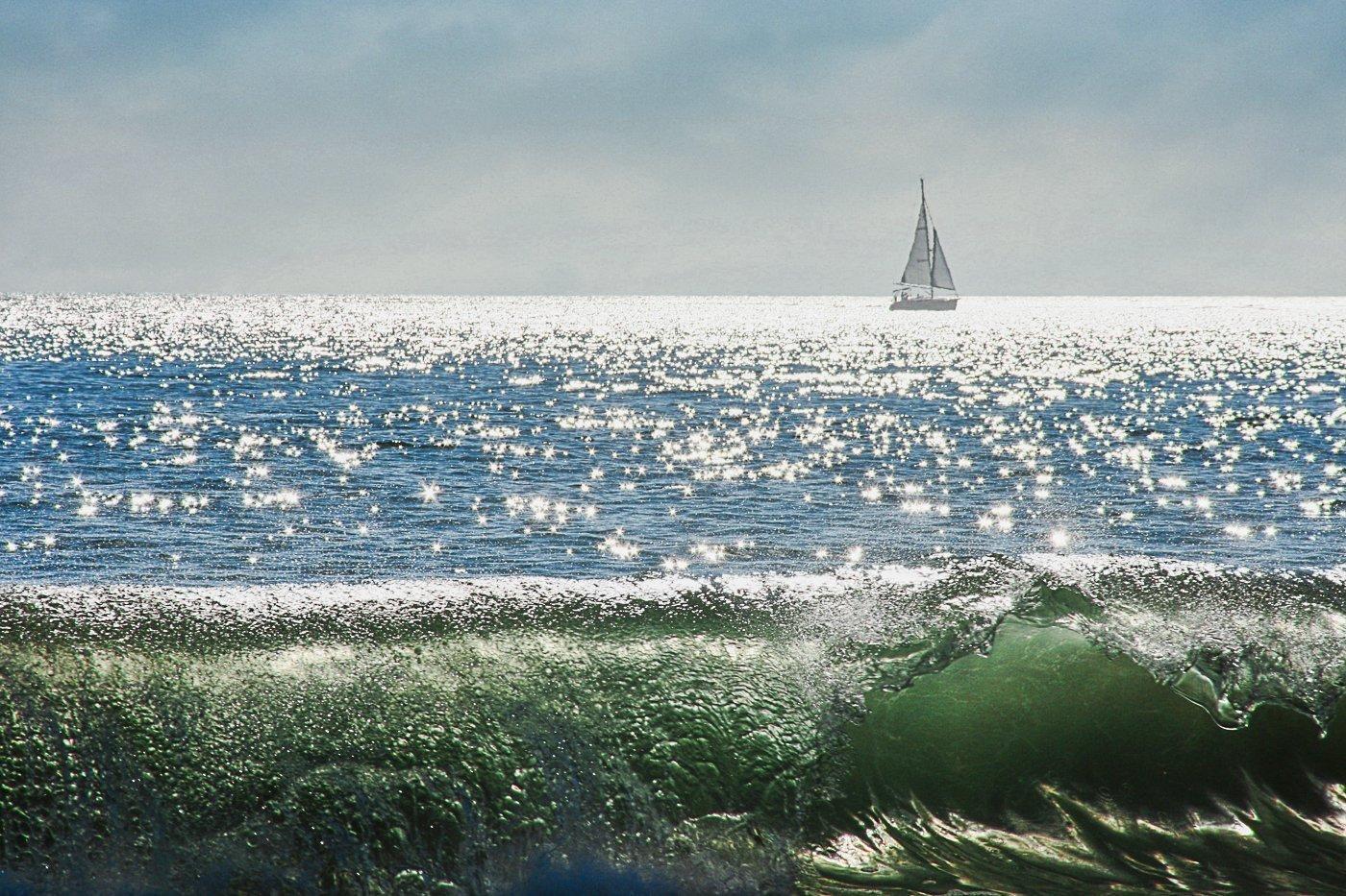 Starry Ocean - Santa Cruz, California